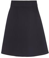John Lewis Girls' Easy Care Adjustable Waist Skater School Skirt