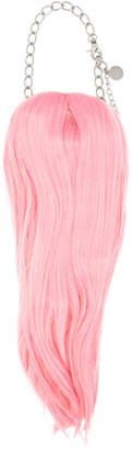 Comme des Garçons Homme Plus Pink Hair Necklace