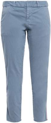 Nili Lotan East Hampton Cropped Twill Slim-leg Pants