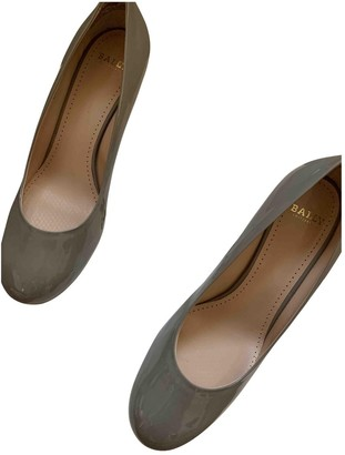 Bally Grey Patent leather Heels