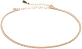 Shashi Plain Chain Choker Necklace