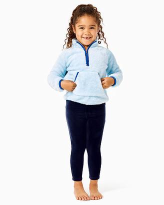 Lilly Pulitzer Girls Little Skipper Sherpa Popover