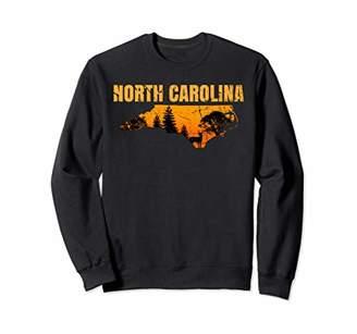 Hunter North Carolina Deerhunter N.C. Hunting Graphic Gifts Sweatshirt