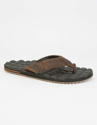 Volcom Recliner Leather Mens Sandals