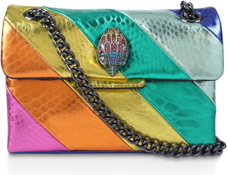 Kurt Geiger Rainbow Shop X Kensington Leather Mini Crossbody Bag