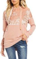 Miss Chievous Velvet Hooded Sweatshirt