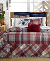 Tommy Hilfiger Buckaroo Plaid Twin Duvet Cover Set
