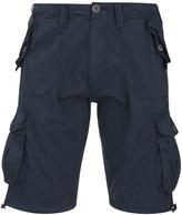 Brave Soul Men's George Cargo Shorts - Navy