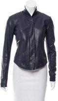 Veda Asymmetrical Leather Jacket