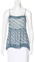 Etoile Isabel Marant Silk Sleeveless Top