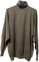Gianni Versace Green Cashmere Knitwear for Women Vintage