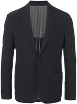 Giorgio Armani patch pocket blazer - men - Cotton/Polyamide/Spandex/Elastane/Viscose - 48