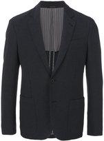 Giorgio Armani patch pocket blazer - men - Cotton/Polyamide/Spandex/Elastane/Viscose - 50