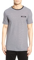 Zanerobe Men's Flintock Longline Stripe T-Shirt