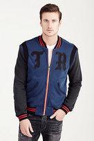 True Religion Hand Picked Knit Varsity Mens Jacket