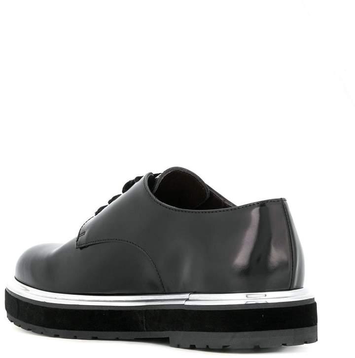 AGL embellished sole lace-up shoes