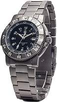 Smith & Wesson Men's SWW-357-T-BLK Executive Tritium H3 Titanium Strap Watch