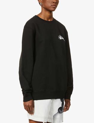 Stussy Logo-print cotton-blend jumper