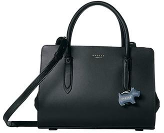 Radley London Liverpool Street - Medium Zip Top Multiway (Black) Handbags