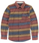 O'Neill 'Glacier Stripe' Fleece Shirt (Little Boys & Big Boys)
