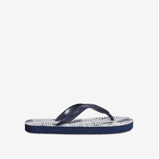 Joe Fresh Kid Boys' Flip Flops, Navy (Size L)