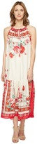 Johnny Was Secret Garden Dress w/ Slip Women's Dress