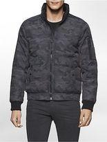 Calvin Klein Mens Camo Puffer Jacket