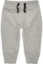 River Island Mini boys light grey joggers