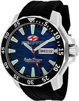 Seapro Sea-Pro Scuba Diver Limited Edition Mens Black Strap Watch-Sp8316