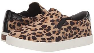 Dr. Scholl's Madison (Tan/Black Leopard Microfiber) Women's Slip on Shoes
