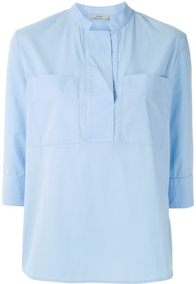 Egrey Chest Pockets Shirt