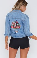 Beginning Boutique Vintage Looney Gang Denim Jacket