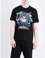 Kenzo Tiger Flyer-print Cotton-jersey T-shirt