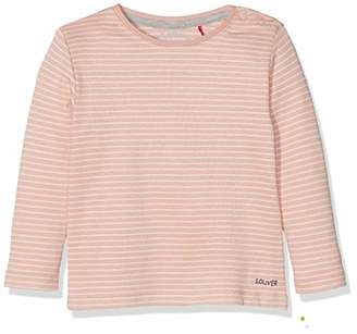 S'Oliver Junior Baby 56.899.31.0756 T-Shirt, (Dark Blue Knitted Stripes 59g5)