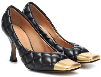 Bottega Veneta Quilted leather pumps