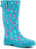 Western Chief Dotty Downpour Womens Waterproof Rain Boots Wide