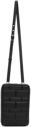 Bottega Veneta SSENSE Exclusive Black Imbottiture Mini Messenger Bag