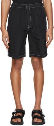 SASQUATCHfabrix. Black Nylon Shorts