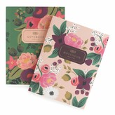 Pottery Barn Teen Rifle Paper Co. Vintage Blossoms Notebooks, Set of 2
