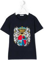 Dolce & Gabbana emblem print T-shirt - kids - Cotton - 4 yrs
