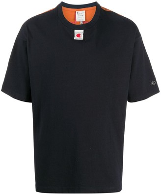 Champion two-tone logo print T-shirt