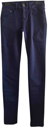 The Kooples Blue Cotton Jeans for Women