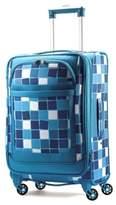 American Tourister iLite Max 21-Inch Spinner Suitcase in Light Blue