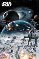 Star Wars POSTER BATTLE (61cm x 91,5cm) + 1 pack tesa powerstrips®, 20 pieces