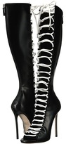 DSQUARED2 Vitello Boot Women's Lace-up Boots