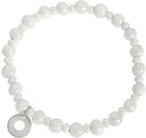 Antica Murrina Veneziana Perleadi White Murano Glass Beads Bracelet
