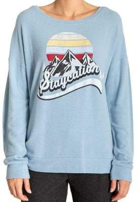 PJ Salvage Gone Napping Jersey Long-Sleeve Top