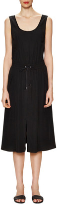 Helmut Lang Revolve Drawstring Split Dress