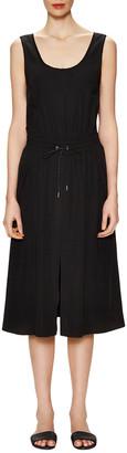 Helmut Lang Revolve Drawstring Split Dress