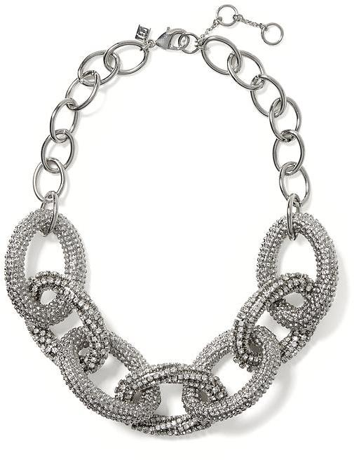 Banana Republic Silver Glimmer Necklace